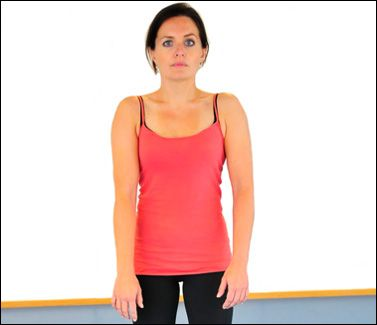 how to fix a hunched neck