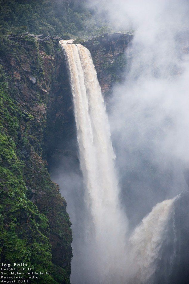 The Most Attractive Places To Visit In India. Jog Falls karnataka