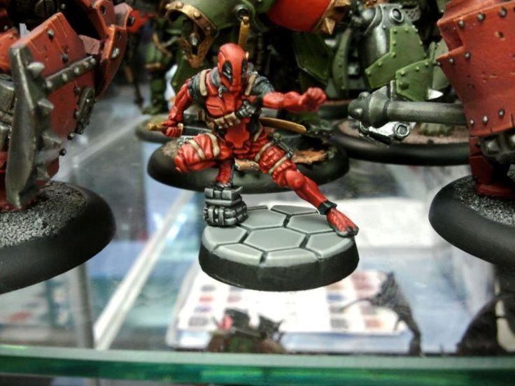 Deadpool, Infinity, Infinity The Game, Senor Massacre