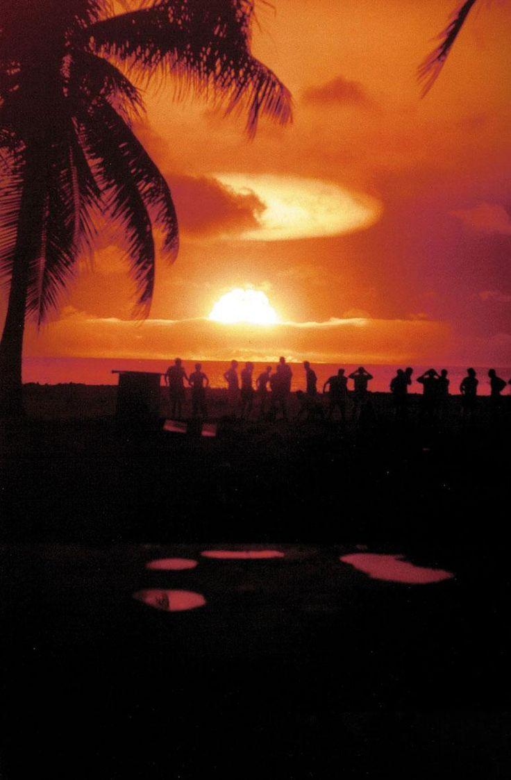 Operation Redwing 'Mohawk' Enewetak Atoll 25 June 1956 [7741181]