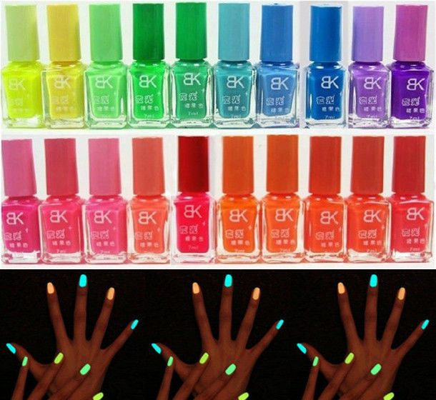 20 Colors Bright Fluorescent Nail Art Polish Vivid Magic Oil Top Coat 7ml CY467 #New