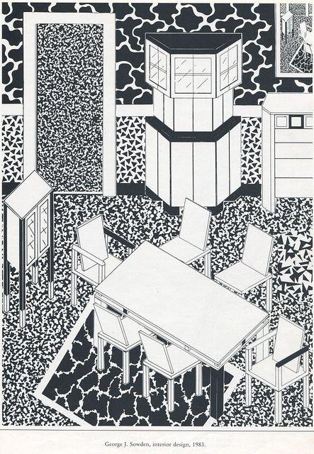George J. Sowden, interior design. 1983