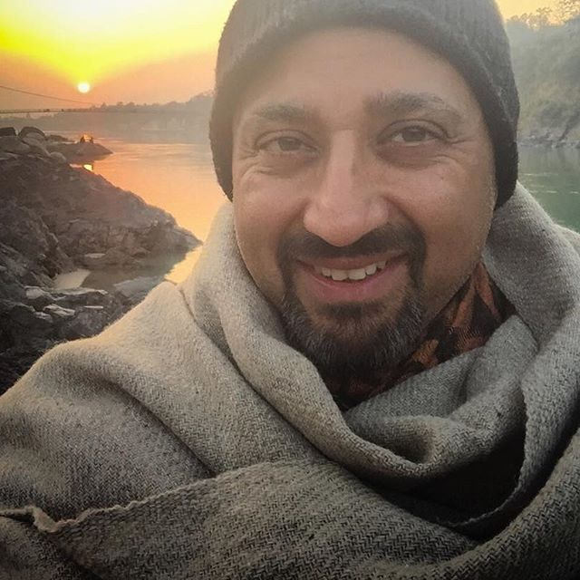 Woke up missing the Ganges... #ganges #rishikesh #johnsiddique #yogalife #authenticliving #sunset #ganga #chooselife