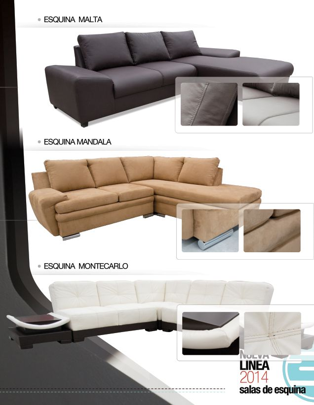 9 best Salas en esquina 2014 images on Pinterest | Couch, Diy sofa ...