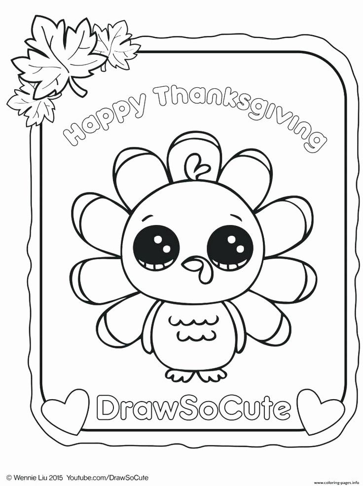 Happy Turkey Day Coloring Pages Unique Color by Number ...