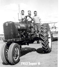 1953 Super H (New From Dealer)