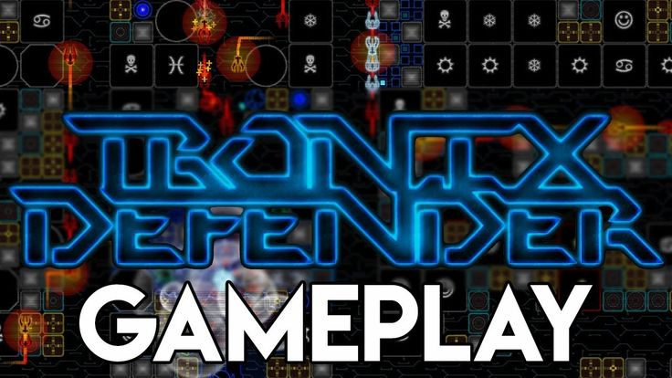 Tronix Defender Gameplay | Retro Tower Defense Synthwave Casual Game