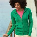 Fruit of the Loom Lady-fit Lightweight Hooded Sweatshirt