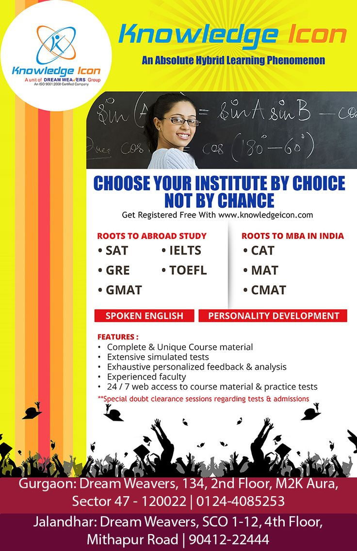 """CHOOSE YOUR INSTITUTE BY CHOICE NOT BY CHANCE"" Get #Register yourself @ 9041222444 http://goo.gl/vhNgMI"