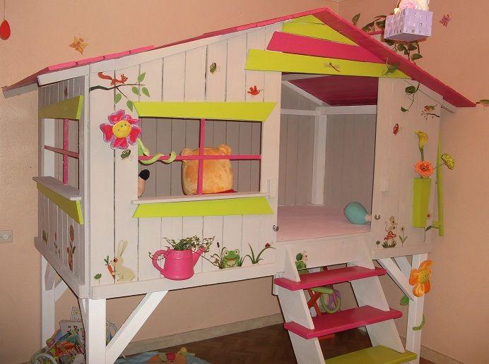 les 26 meilleures images du tableau chambre fille sur pinterest chambre enfant chambre filles. Black Bedroom Furniture Sets. Home Design Ideas