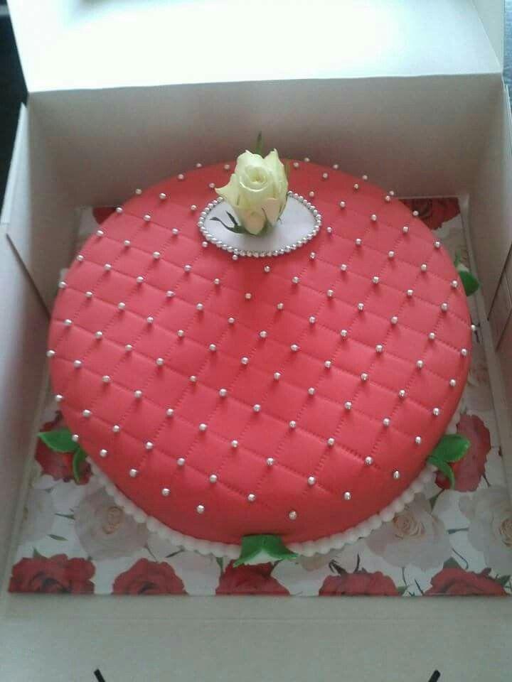 Verjaardags taart.