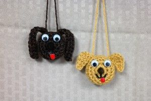 By request I have FINALLY gotten a puppy ornament together – and you get to choose the look!! WHAT YOU WILL NEED: Main colorworsted wt [4] yarn; a battery operated …