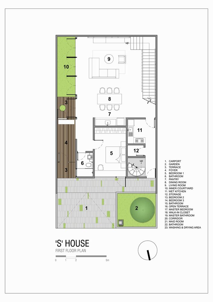 Gallery Of S House Simple Projects Architecture 45 In 2020 Cottage Floor Plans Bedroom House Plans Modern House Floor Plans