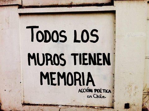 All the walls have memories