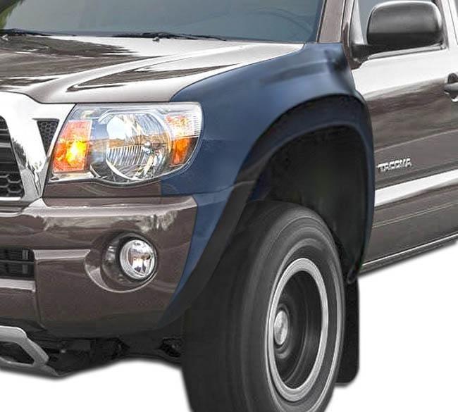 "2005-2015 Toyota Tacoma Duraflex 6"" Off Road Bulge Front Fenders - 2 Piece"