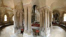 Ambit w kościele w miejscowości Bois-Sainte-Marie w regionie Burgundia-Franche-Comté, w departamencie Saona i Loara (Francja). [za Wikipedia]