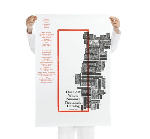 Visual grammar by R2 design, via Behance