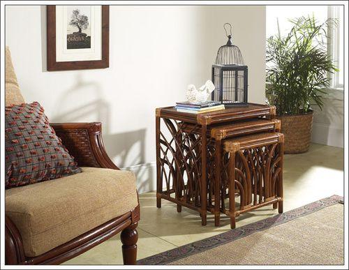 Boca Rattan 20081 Delta Nesting Table Set Of 3