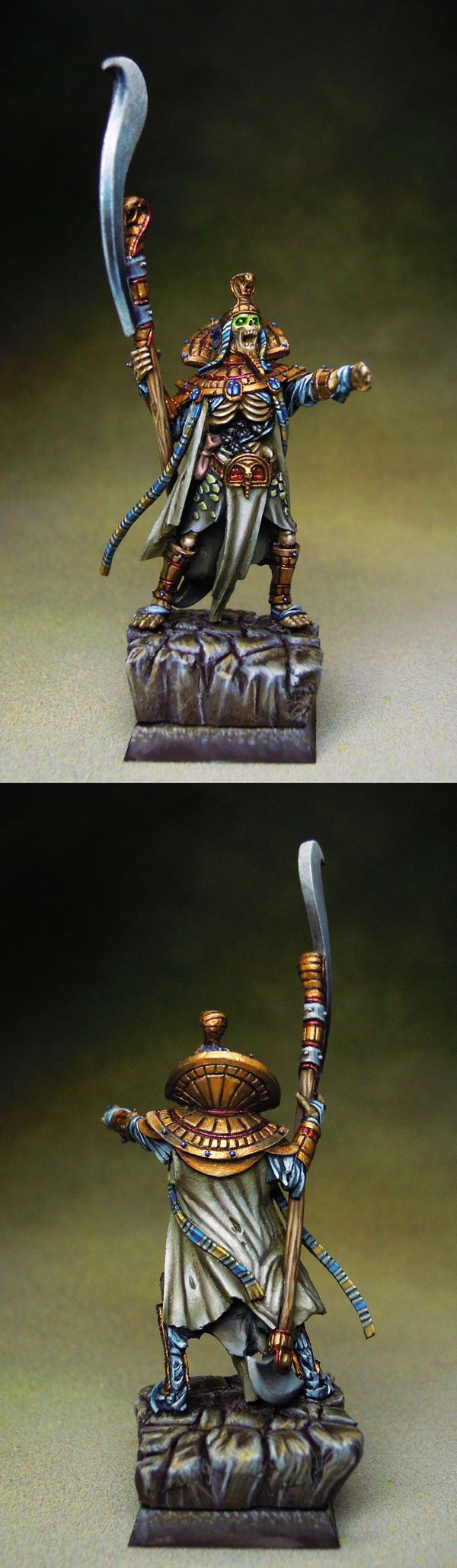 Tomb King with Great Weapon