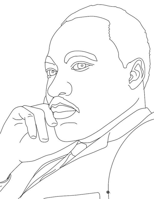 Martin Luther King Jr Coloring Pages And Worksheets Best Coloring Pages For Kids In 2021 Martin Luther King Jr Crafts Coloring Pages King Drawing