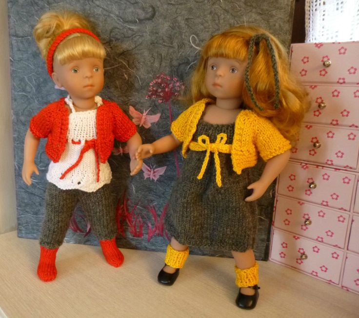 BOUTON D'OR ET COQUELICOT  Modèle Doll Family pour poupées Minouche, Little Darling (D. Effner), Chéries (Corolle). Patrons français + English : www.dollfamily.fait-maison.com