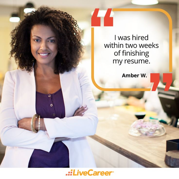 182 best images about livecareer reviews on pinterest build a resume my resume and interview