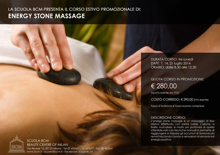 ENERGY STONE MASSAGE