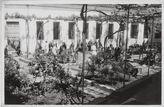 Hospital de La Misericordia, patio de enfermos, hacia 1967