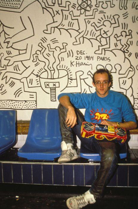 Keith Haring. 1984. Paris
