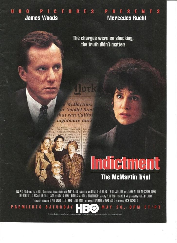 James Woods, Mercedes Ruehl, Indictment, HBO Movie, Full ...