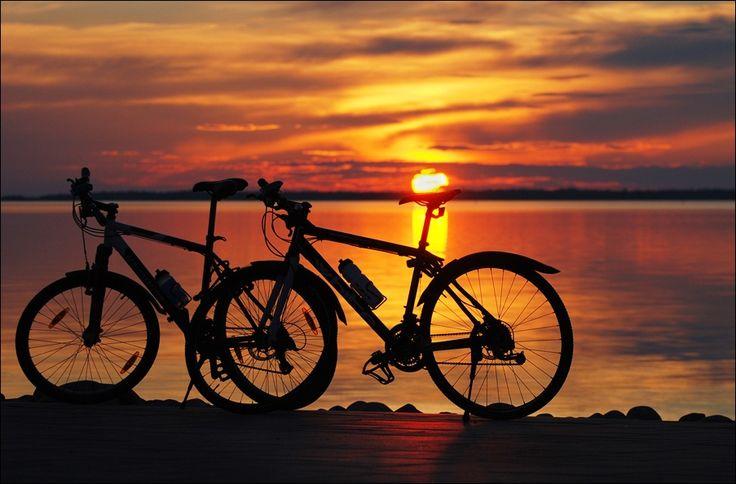 The sun on a bike by Olga Kritsak on 500px