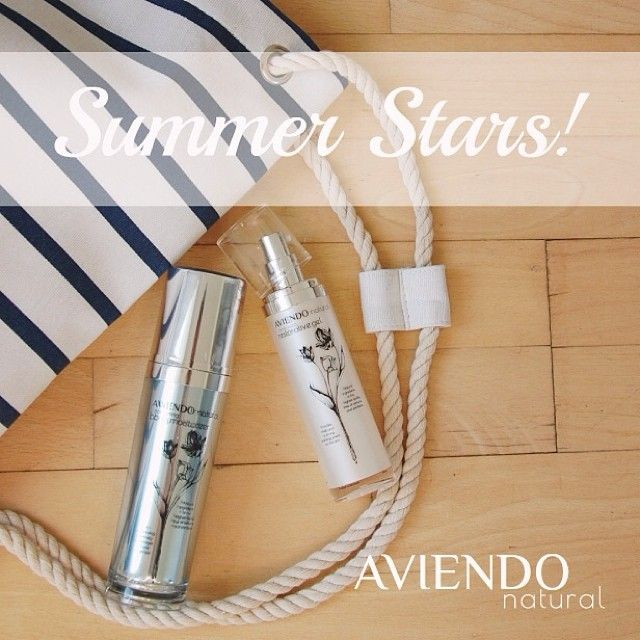 Until the end of August get 15€ off our Summer Beauty Essentials bundle with coupon code AVIENDOSUMMERSTARS. Go to this link here to checkout the bundle: http://aviendonatural.com/summer-beauty-essentials . Bundle contains our Aloe Vera Restorative Gel with 98% concentration of ACTIValoe® gel - perfect for sunburn, scarring, insect bites etc. And our Body Moisturizer containing Jojoba and Apricot Kernel oils. All of our products are natural with no added ingredients.