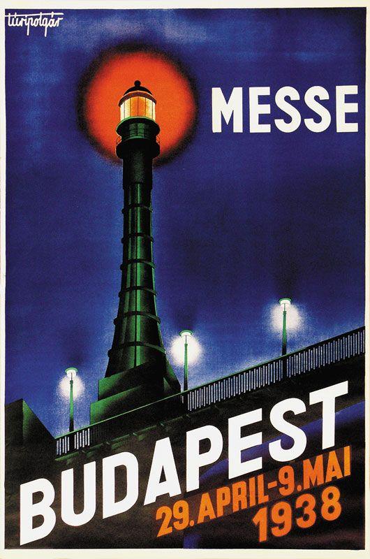 Budapest - Messe - 1938 -