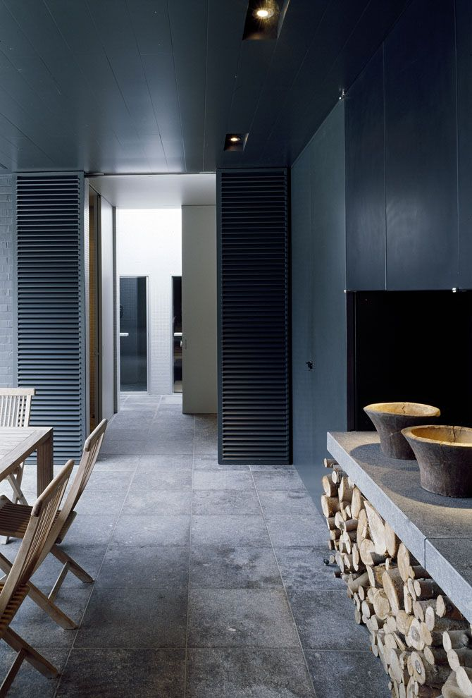 Interior Design At ThePI PoolhouseBy Vincent Van Duysen