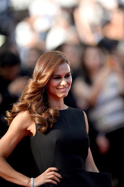 Claudia Vieira - 'Clouds of Sils Maria' Premieres at Cannes - dress by Diogo Miranda