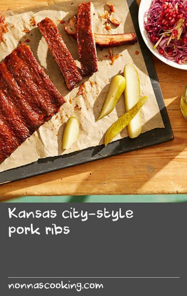 Kansas city-style pork ribs | I've got a history cooking with charcoal, working in pizzas places and also with South American barbecue. When cooking with gas or electric, you just get that heat, no flavour. At Fancy Hanks, we use chestnut wood and it just adds so much. I was travelling through the States for the first time a few years back and stopped in Kansas City, Oklahoma, at a cool little dive bar in an old petrol station. The style of pork ribs they do is they mop the meat with…