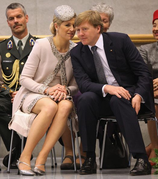 HRH Queen Beatrix Of The Netherlands And Crown Prince Couple Willem Alexander And Maxima On Germany Visit - Day 3