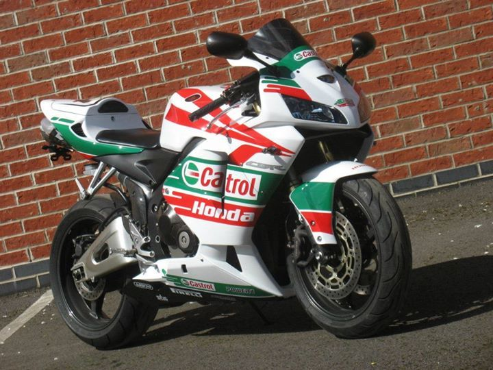 Honda cbr600rr castrol rep autos cycles pinterest for Deco 600 cbr