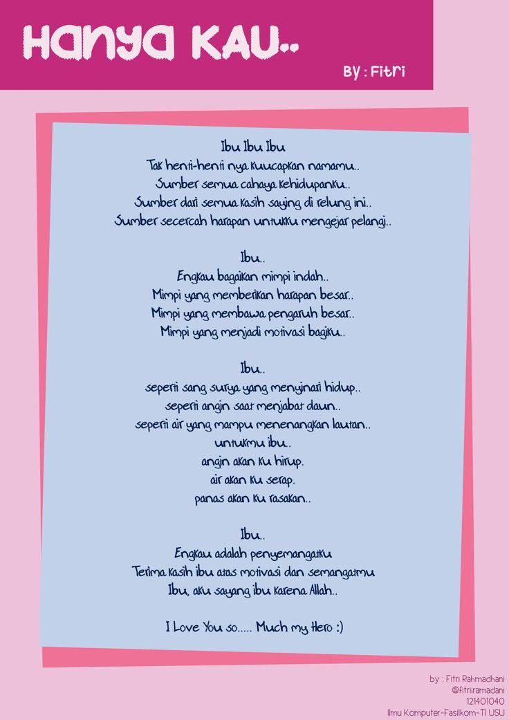 Buat Puisi Untuk Mama