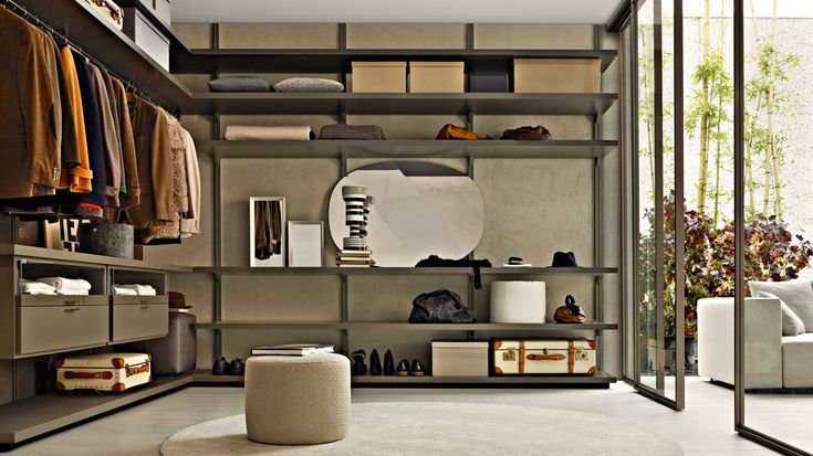 Dwell Walk-in Closets Molteni & C