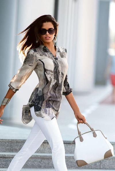 Cette tenue est composée de 4 must-have de la saison ! Elle est idéale pour le bureau, le week-end, vos sorties shopping et donne un style élégant à votre silhouette. La tunique est transparente et révèle la beauté de son imprimé. Sa coupe longue et ample lui donne une allure folle. Associée à la tunique, …