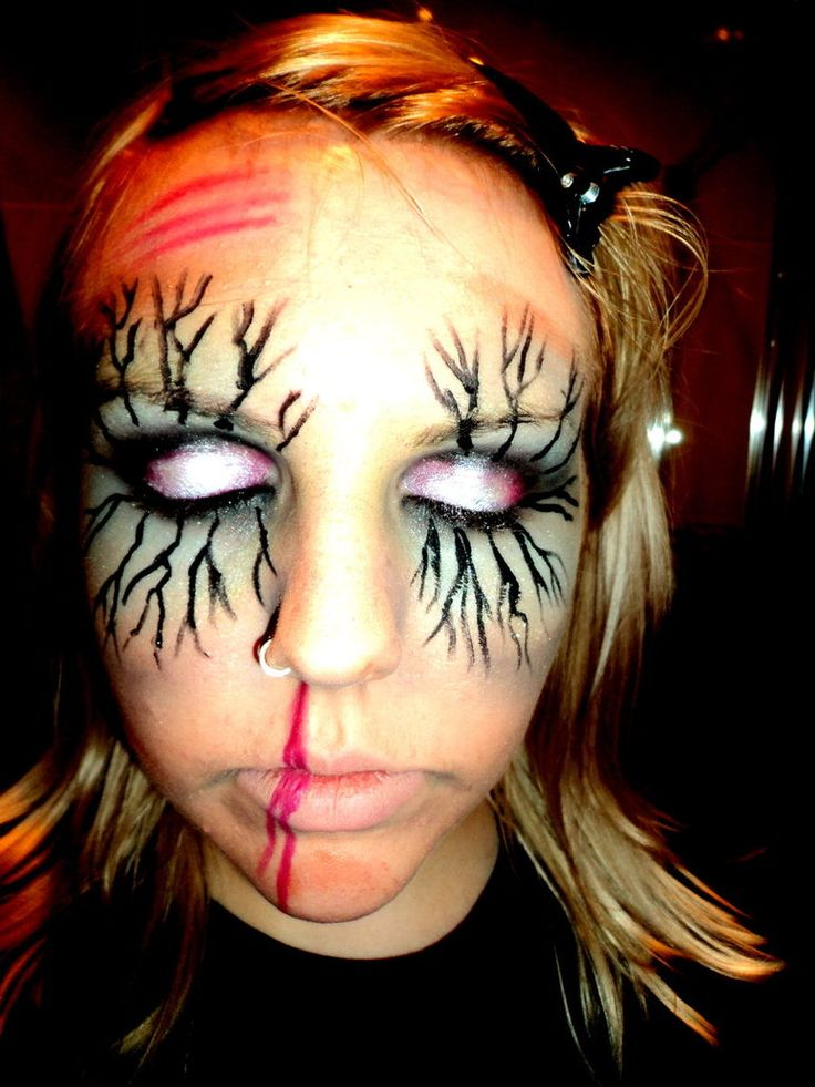 Sexy Zombie Makeup Ideas | Zombie Make up 1 by ~hoolzbaby on deviantART