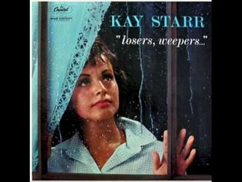 """Kay Starr - Rock And Roll Waltz ( 1954 )  *** She is one of my favorites from 50's.  I have several of her albums including one shown on here, """"Rockin' With Kay. ***"""