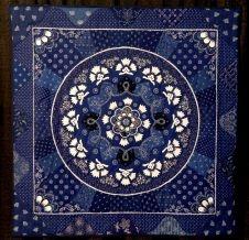 "Garland of Blue and White Flowers"" by Elizabeth Bogdan Photo: Thomas B. Shea / HC"