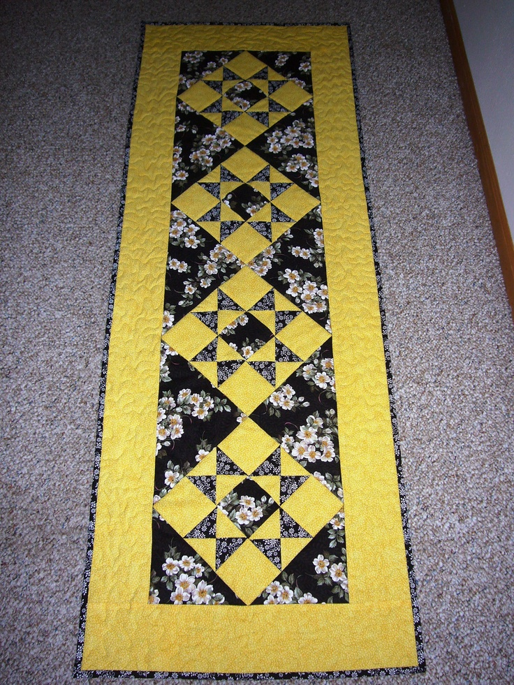40th Class Reunion table runner for silent auction