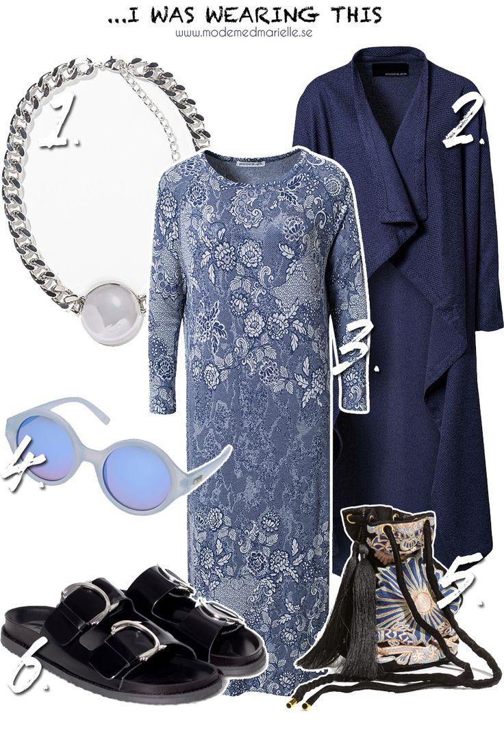 dream outfit  Halsband – Zara // Kappa – Rodebjer // Klänning – Rodebjer // Solglasögon – Le Specs // Väska – H&M // Tofflor – Zara