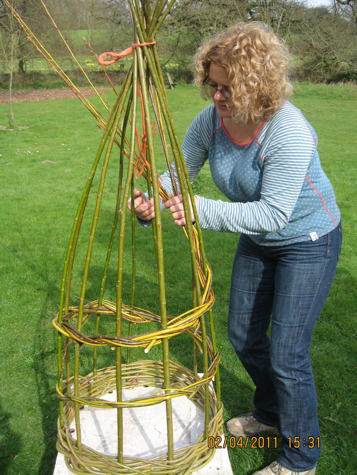 learning to make willow structures