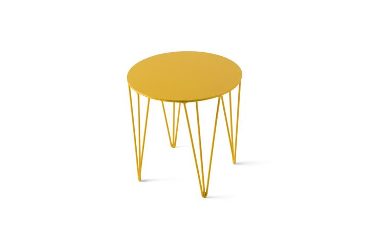 Chele Rounded Coffee Table by Atipico made in Italyop CROWDYHOUSE