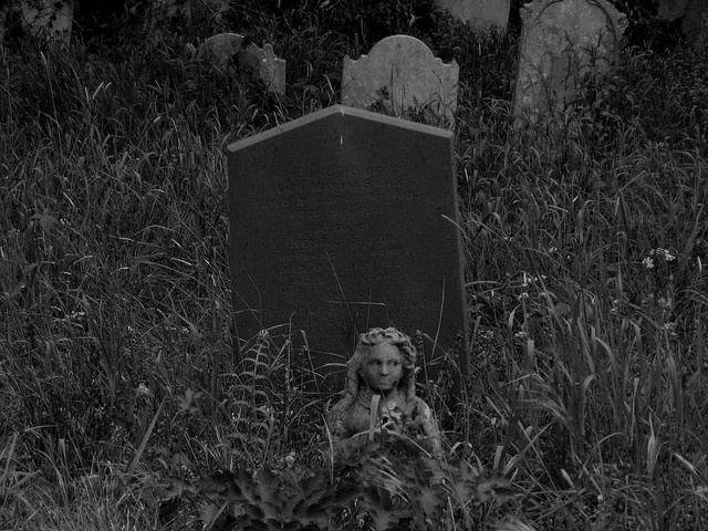 As I turned a corner deep within Southampton's old and abandoned necropolis, I felt the hair on the back of my neck tingle as if someone was staring at me. I looked around and saw her..written by the excellent photographer) in England