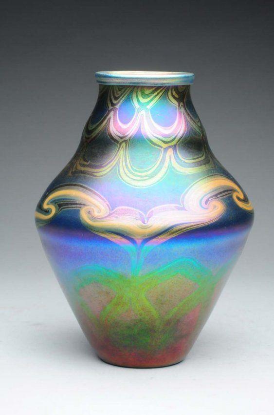 Tiffany Art Glass Vase